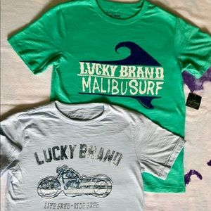Boys Lucky Brand T-Shirts with Cool Graphics
